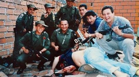 The beginning of the end for drug lord Pablo Escobar shows