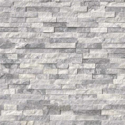 MSI - Marble Rockmount 6 x 24 Stacked Stone Panels - 9