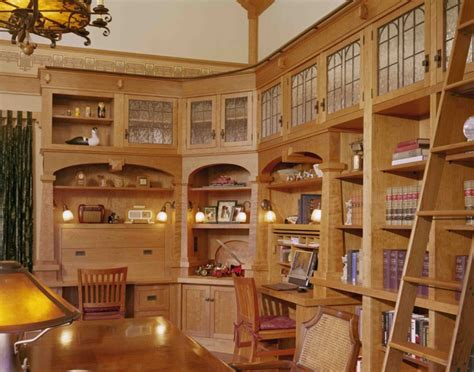 20+ Library Home Office Designs, Decorating Ideas | Design