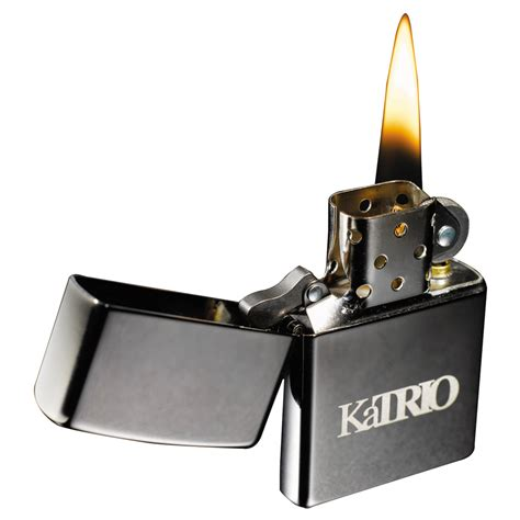 Personalized Zippo Black Ice Windproof Lighters | LE755022