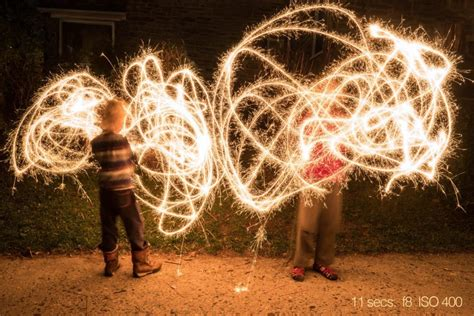 How to Photograph Sparklers - How To Photograph Your Life