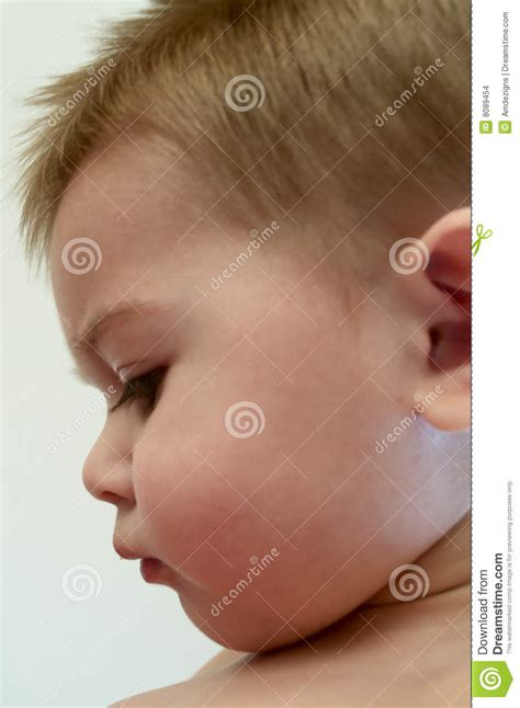 Baby Profile Stock Images - Image: 8089454