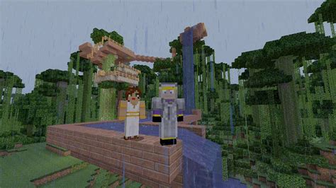 """Minecraft Xbox: Jungle Survival ep10 """"Water slide"""" - YouTube"""