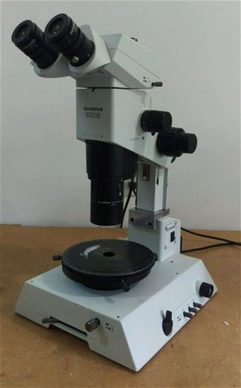 Olympus Microscope SZX12 Stereo with Rotating Stage and