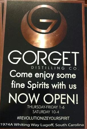 Gorget Distilling Co (Lugoff) - 2020 All You Need to Know
