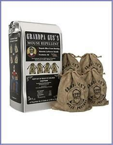 Grandpa Gus's Mice Repellent Pouches Natural Peppermint
