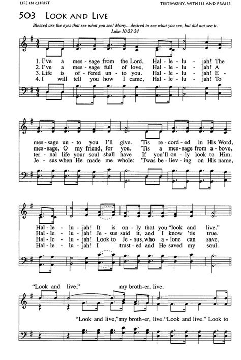 African American Heritage Hymnal 503