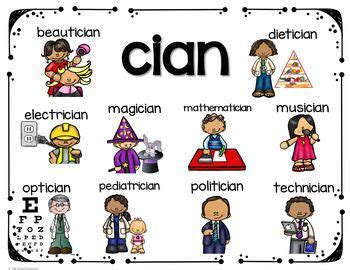 Suffixes tion- sion and cian in 2020 | Suffix tion