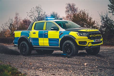 Ford Ranger Raptor Police Car Ready for the Chase with