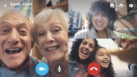 Skype's iOS and Android apps now let you video chat with