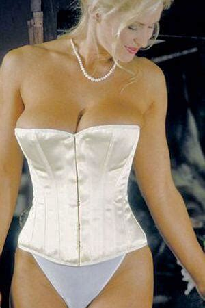 Elegant Satin Bridal Corset from Axfords with Free