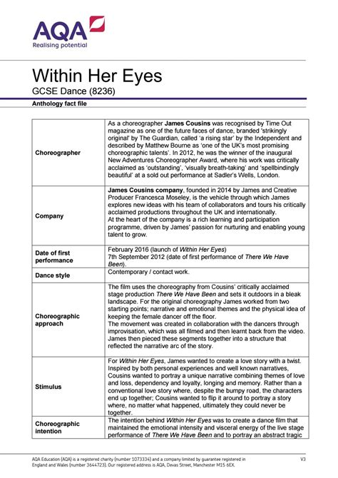 Within Her Eyes by Ullswater Community College - Issuu