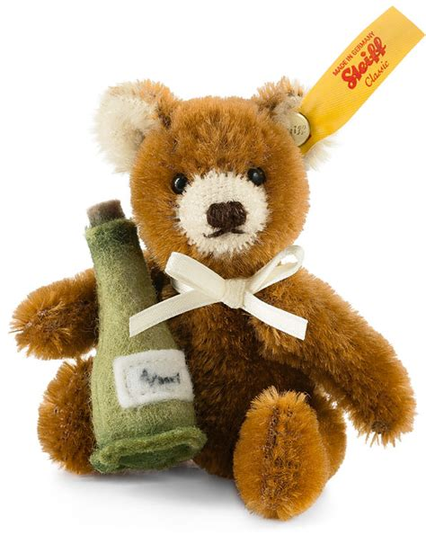 Mini Teddy With Champagne EAN 028908 by Steiff at The Toy