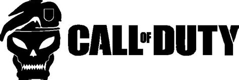 CALL OF DUTY SKULL DECAL / STICKER