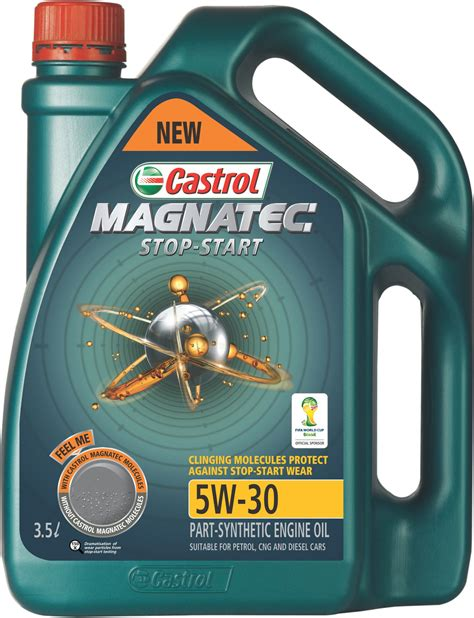 Castrol launches new engine oil for engines with stop