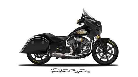 Roland Sands Custom Indian Chieftain Shows the Beauty of