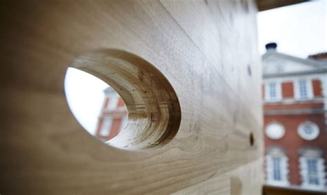 """Curved timber """"Smile"""" building in London is """"stronger than"""