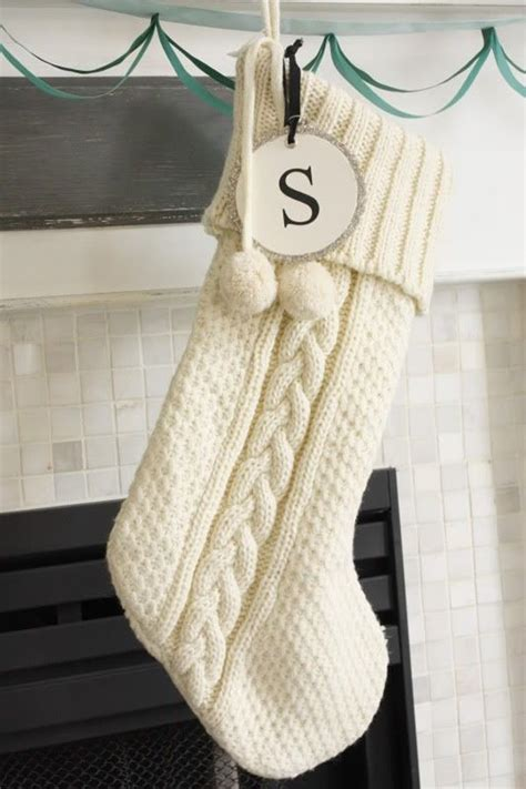 Personalized and monogrammed Christmas stockings for the
