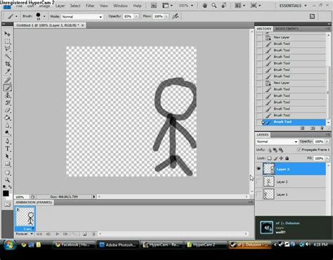 How to make animation in PhotoShop CS4/ CS4 Extended