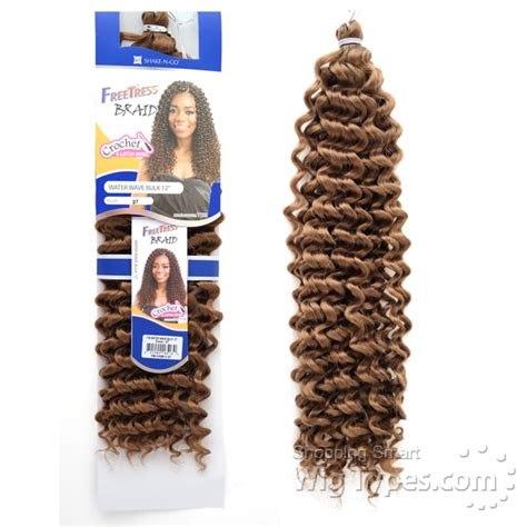 Freetress Synthetic Braid - WATER WAVE BULK 12 - WigTypes
