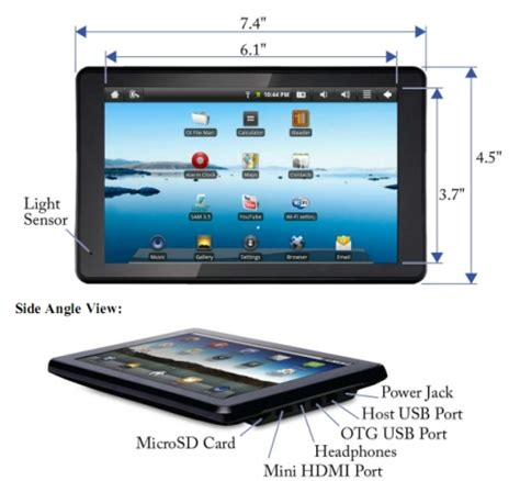 Under the hood of the Sylvania PID7901 Android tablet