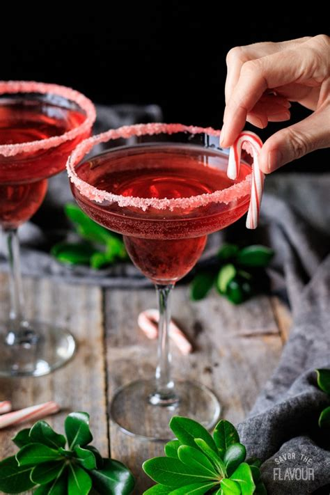 Candy Cane Mocktail | Savor the Flavour