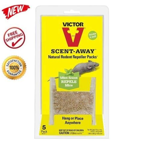 Natural Mice Repeller Packs x5 Bags Mint Scent Mouse