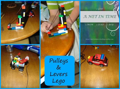 Using Lego to learn about Pulleys, levers and gears