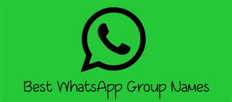 [*Funny*] 1000+ WhatsApp Group Names For Friends & Family