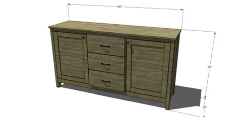 Free DIY Furniture Plans to Build a Pottery Barn