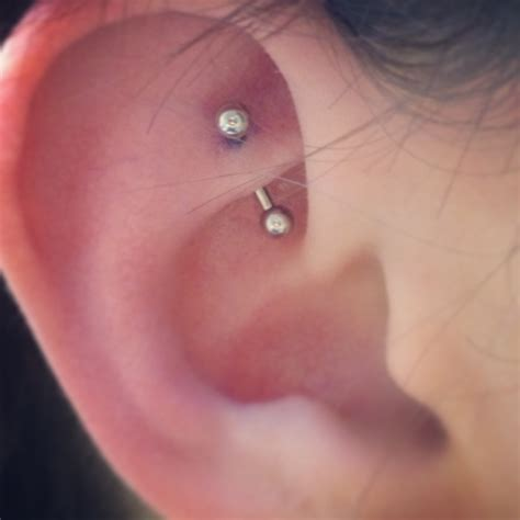 Rook piercing: Care, Healing, Pain, Jewelry, Price