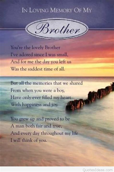 HAPPY BIRTHDAY QUOTES TO MY BROTHER IN HEAVEN image quotes