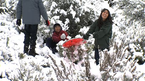Cold Storm Brings Snow To Unusual Areas In San Diego