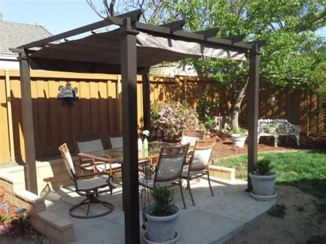 """""""Love our new pergola! It's sturdy and fits perfectly in"""