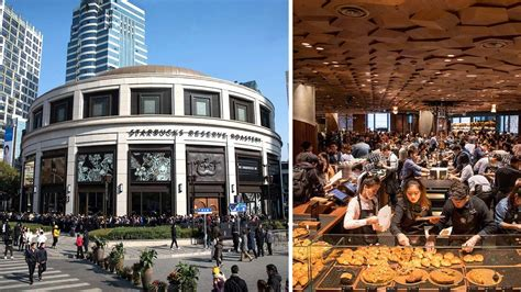 The World's Largest Starbucks Just Opened In Shanghai, China