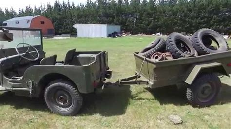 42 Willys Jeep for sale - YouTube