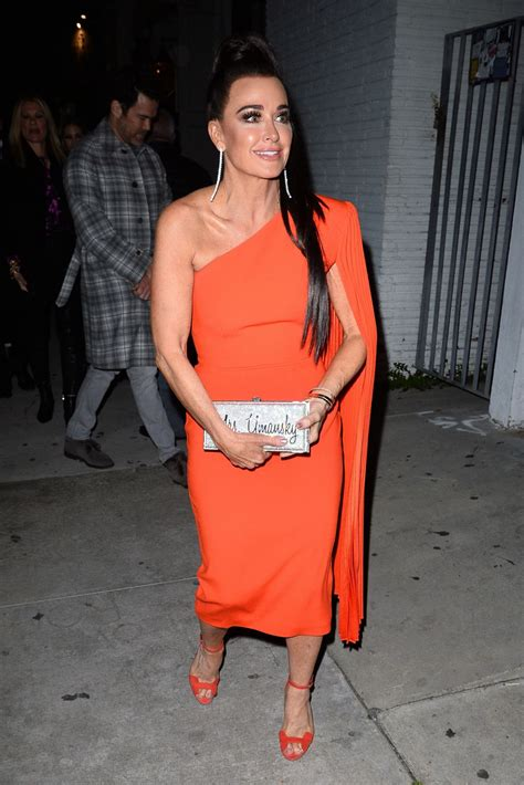 """Kyle Richard – Arrives For """"The Real Housewives Of Beverly"""