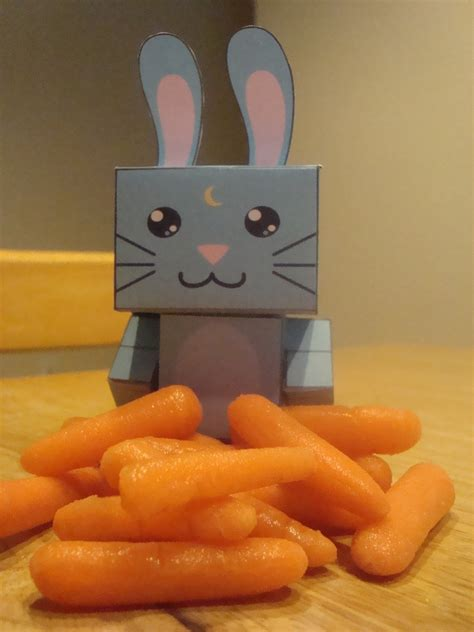 Moon Bunny Cubee · How To Make A Papercraft · Art