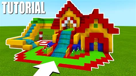 Minecraft Tutorial: How To Make A Fun House Mansion