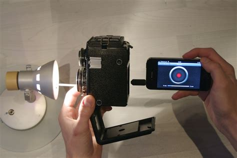 Shutter-Speed-Tester for the iPhone   Photo