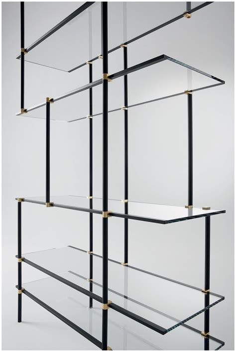 15 Photo of Cable Suspended Glass Shelving