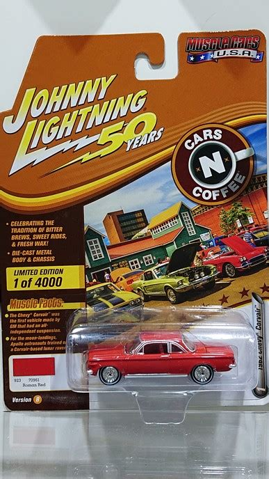 Johnny Lightning 1:64 Muscle Cars USA - Release 20-B '62