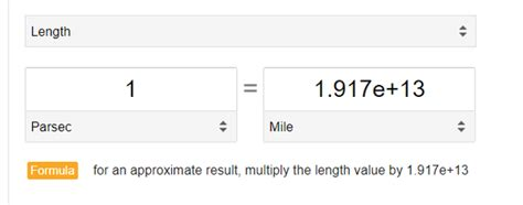 How far is a parsec in comparison to miles? - Quora