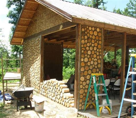 The Beauty of Natural Building in Cord Wood