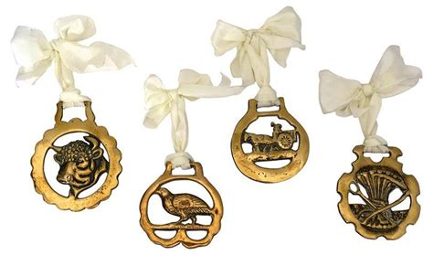 Antique English Horse Brass Ornaments,S4 Now: $140