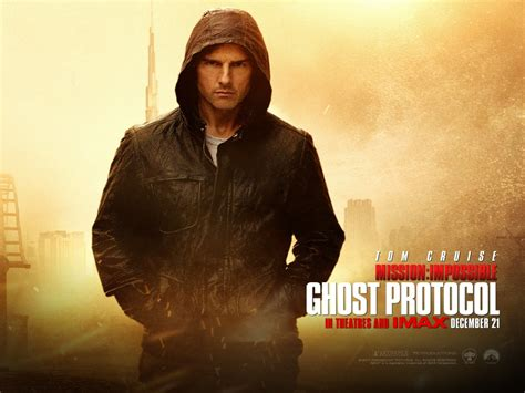 Tom Cruise in Mission Impossible 4 Wallpapers   HD
