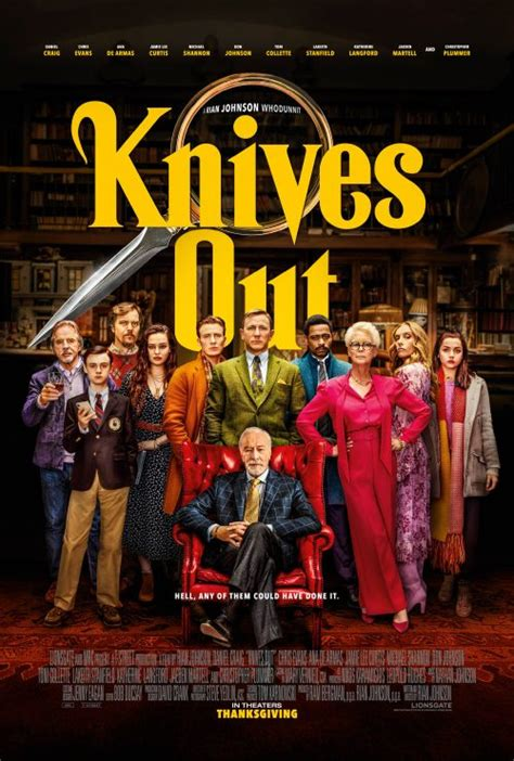A slice of colour in the new Knives Out character posters