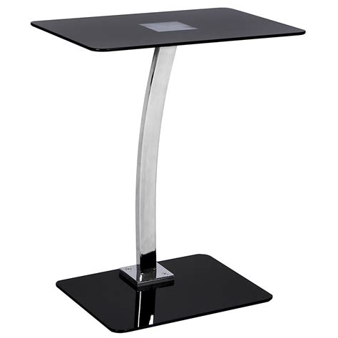 Glass Laptop Stand Black | Lassic - Everything For Your Home