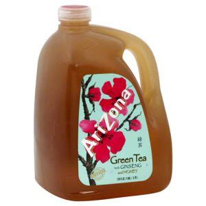 Review: Arizona Green Tea with Ginseng and Honey | Nutri