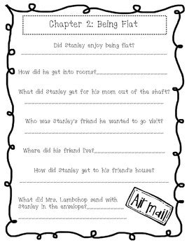 Flat Stanley Unit (40 pages) by Brooklyn Boggs | TpT